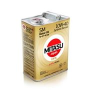 Масло моторное MITASU MOTOR OIL SM 10W-40 Synthetic Blended MJ-122. фото