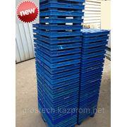 Пластиковые поддоны 60*40 (грузоподъёмность 400 кг.) фото