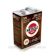 Масло моторное MITASU GOLD SN 0W-30 ILSAC GF-5 100% Synthetic MJ-103. фото