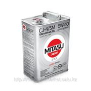 Масло моторное MITASU ULTRA DIESEL CJ-4/SM 5W-40 100% Synthetic MJ-211. фото