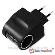 Зарядка 220В-автомобильная Ritmix RM-610 MP3 charger, 110-240V => 12V/0.4A, прикуриватель от розетки 220В фото