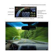 Новейший, универсальный дисплей, система OBD II, расход топлива, предупреждение о превышении скорости. фото