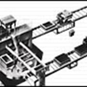 Автоматическая линия для производства отливок в облицованные кокили фото