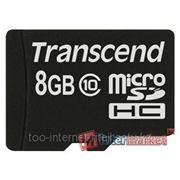 Карты памяти Transcend TS8GUSDC10 фото