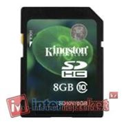 Карта памяти Kingston SD10V/8GB фото