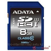 Карта памяти ADATA Premier SDHC Class 10 UHS-I U1 8GB