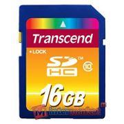 Карты памяти Transcend 16Gb class10 SDHC (TS16GSDHC10)