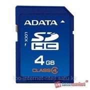 Карта памяти ADATA SDHC Class 4 4GB