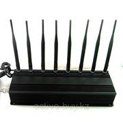 Супер мощная глушилка сотовых телефонов GSM CDMA GPS 3G WIFI VHF UHF до 100 метров фото