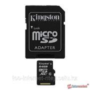 Карта памяти Kingston SDCX10/64GB фото