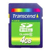 Карта памяти Transcend TS4GSDHC6 фото