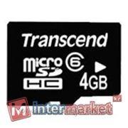Карта памяти Transcend TS4GUSDC6 фото