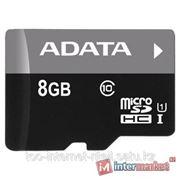 Карта памяти ADATA Premier microSDHC Class 10 UHS-I U1 8GB фото