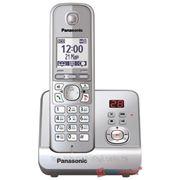 Радиотелефон PANASONIC KX-TG6721CAM (серый металлик)