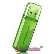 Флеш накопители Silicon Power 8Gb Helios 101 зеленый USB 2.0 фото
