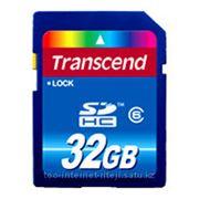 Флеш карта Transcend TS32GSDHC6 SDHC 32Gb class6 фото