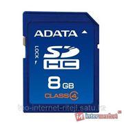 Карта памяти ADATA SDHC Class 4 8GB фото