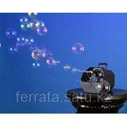 Аренда генератора мыльных пузырей фото
