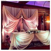 Свадебное красивое оформление в Атырау фото