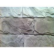 Камень искусственный декоративный РОТТЕРДАМ — белый фото