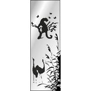 Обработка пескоструйная на 1 стекло артикул 8-10 фото