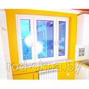 Окно ПВХ 1300*2000 пластиковое в зал брежневской планировки.