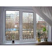 Окно ПВХ 700*2000 пластиковое в зал.