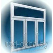 Окно ПВХ 1500*1800 пластиковое в спальную комнату.