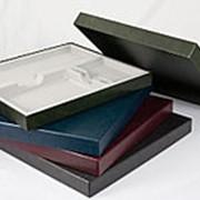 Brunnen Подарочная упаковка на три изделия, 37,8х34,7см, зеленая