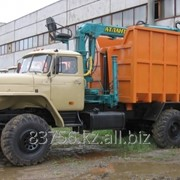 Ломовоз УРАЛ-4320 с КМУ фото