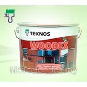 Антисептик для дерева Teknos Woodex Kuultava 9л фото