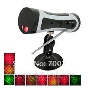 Светомузыкальная установка, лазерный проектор с MP3-плеером / FM фото