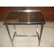 Стол производственный без полки полностью из нержавеющей стали (ДхШхВ) 950х570х860 фото