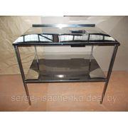 Стол производственный для сбора остатков пищи полностью из нержавеющей стали (ДхШхВ) 1200х570х860 фото