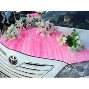 Оформление свадебных машин фото
