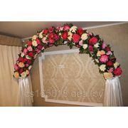Прокат свадебной арки фото