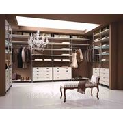 Гардеробные комнаты ар-деко на заказ фото
