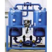 Система подготовки сжатого воздуха и газов, включающая адсорбционный осушитель с холодной регенерацией, предварительный и финальный фильтры и автоматические конденсатоотводчики Ultrapac HED/ALD/MSD (Classic GDA) фото