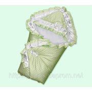 Конверт-одеяло с пелёнкой Little Angel фото