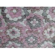 Трикотаж махровый Ромашка (розовый) (арт. 05447) фото