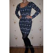 Платье олени 1 фото