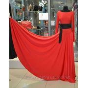 Платье с корссетным поясом фото