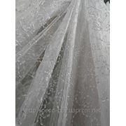 Тюль Шитье с блеском 00040 Органза фото