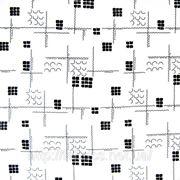 Креп-жоржет (геометрический рисунок) фото