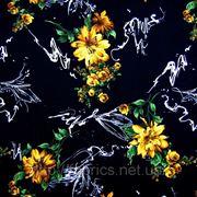 Вискоза «Лоренца» (хризантема) фото