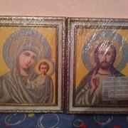Картины иконы вышиты чешским бисером фото