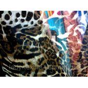 Шифон леопард фото