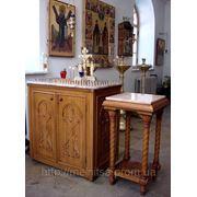 Церковная мебель фото