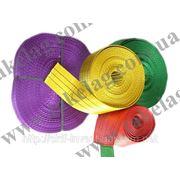 Лента полиэстеровая для текстильных стропов фото