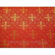 Церковная ткань Крест Византийский фото